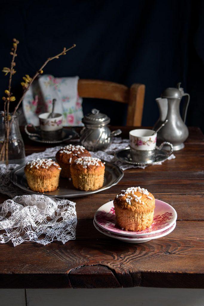 Muffin al cocco glutenfree