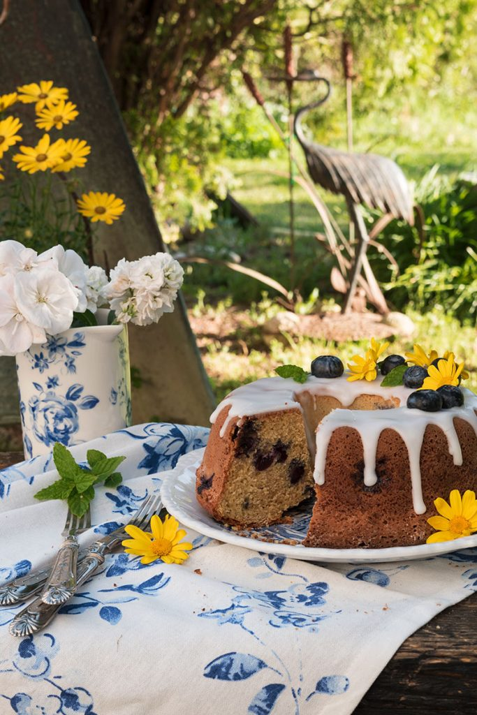 bundt cake ai mirtilli