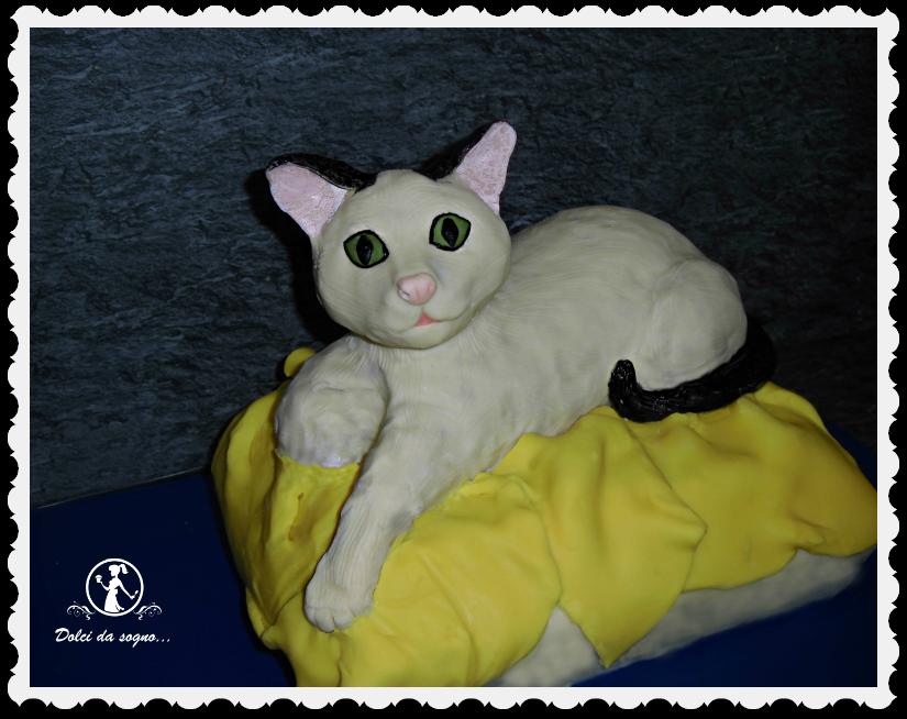 Per chi adora i gatti… una torta gattosa!