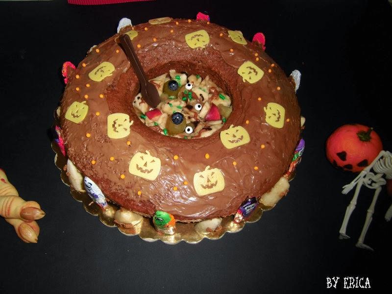 Zuppa di strega, l'ultima torta di Erica!