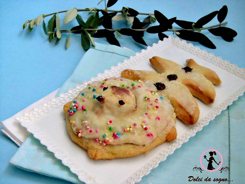 Palommella (colombella) il dolce del convento di Tagliacozzo