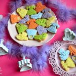 biscotti decorati moda bimba