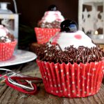 Christmas chocolate cupcakes