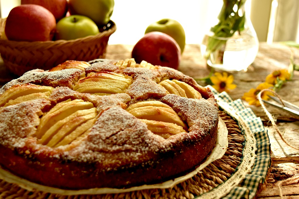 Torta di mele tedesca – German apple cake
