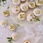 """Cupcakes """"Nozze d'oro"""""""