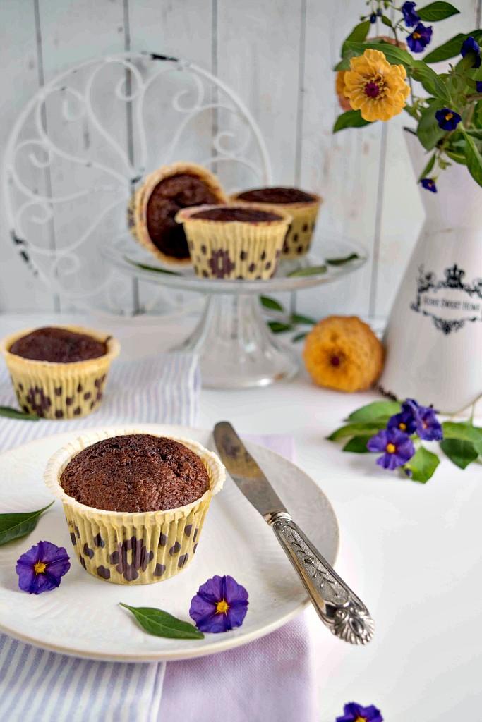 Muffin con mandorle e cioccolato, ricetta senza farina