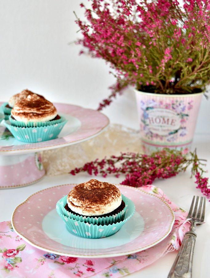 Cupcake al cioccolato con farina di mandorle
