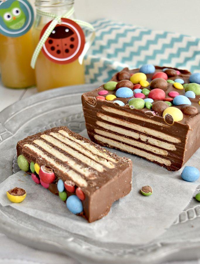 Mattonella di biscotti e cioccolato super-golosa!