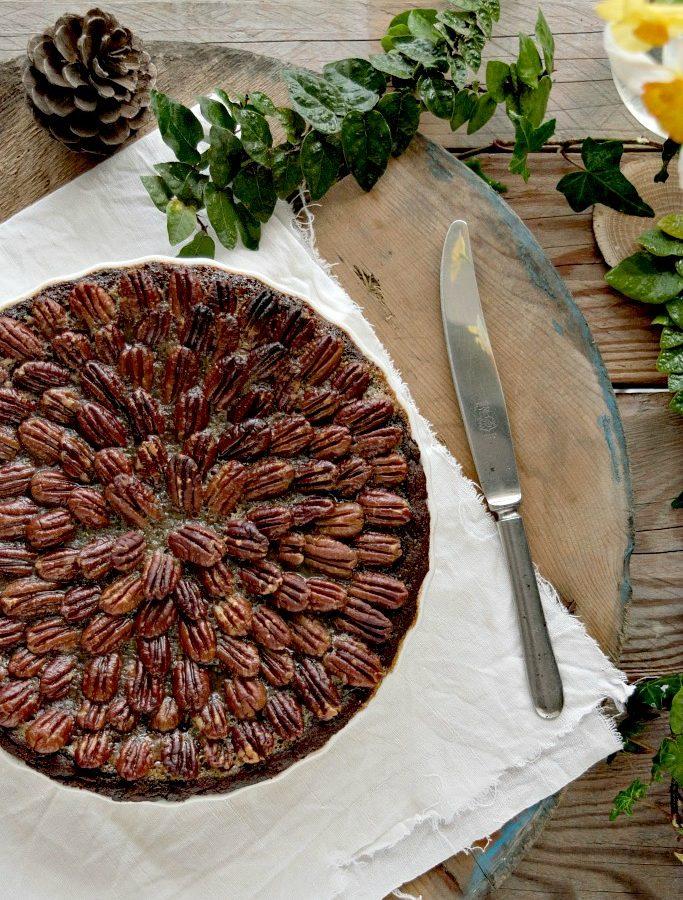 Chocolate pecan pie, una coccola golosa