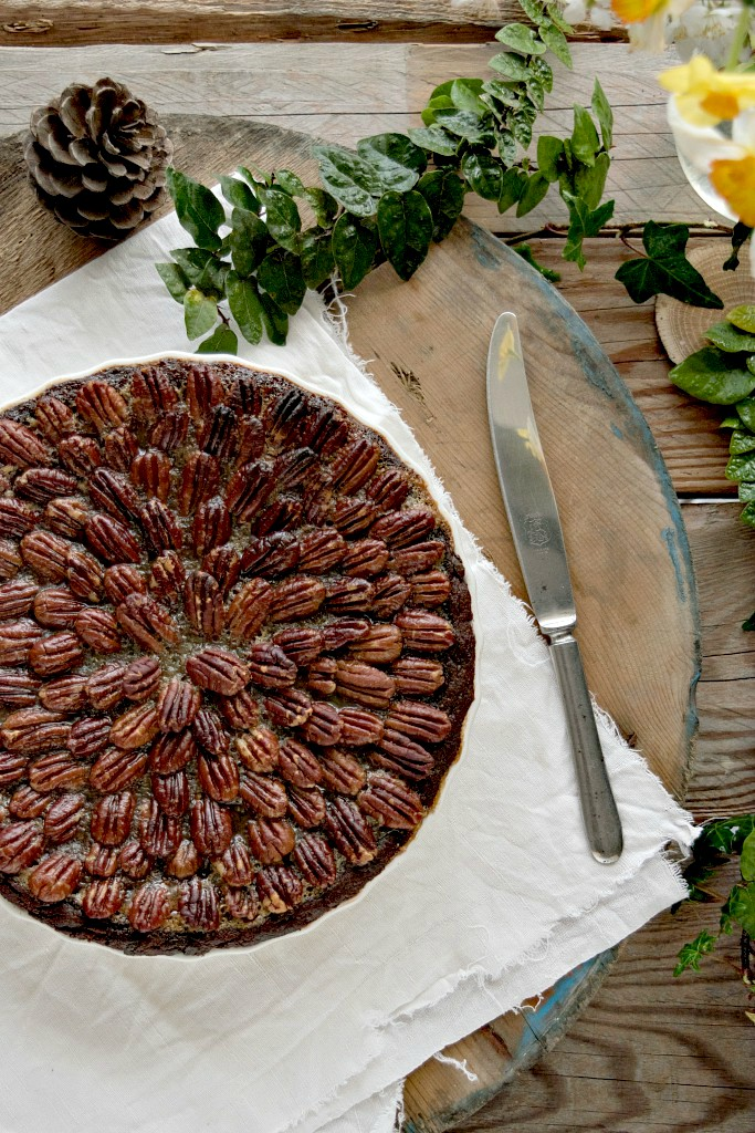 Chocolate pecan pie, una coccola golosa
