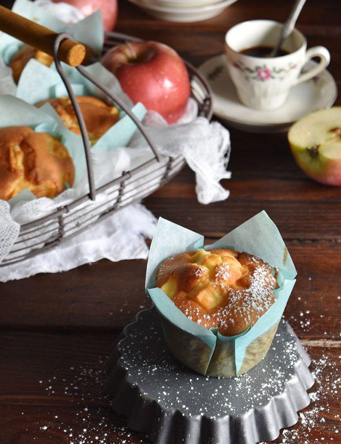 Tortine di mele gluten free, con farina di riso