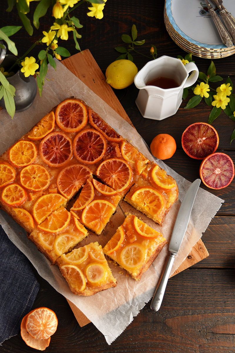citrus upside down cake
