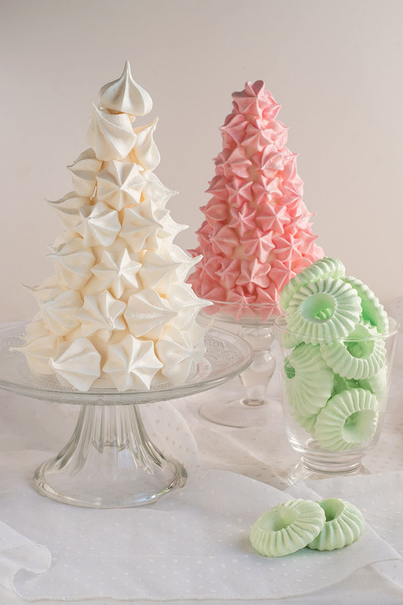 Albero di meringhe -Christmas meringue tree