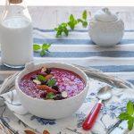 Smoothie bowl senza lattosio