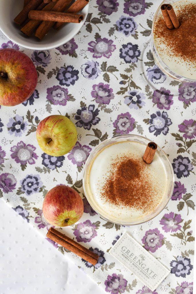 frullato di mele caramellate e cannella