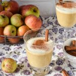 Smoothie alle mele caramellate