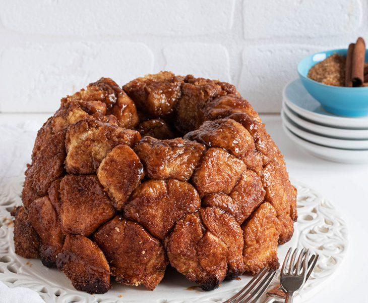 Sweet monkey bread alla cannella