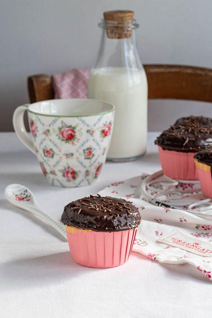 Muffin all'olio con farina di solina