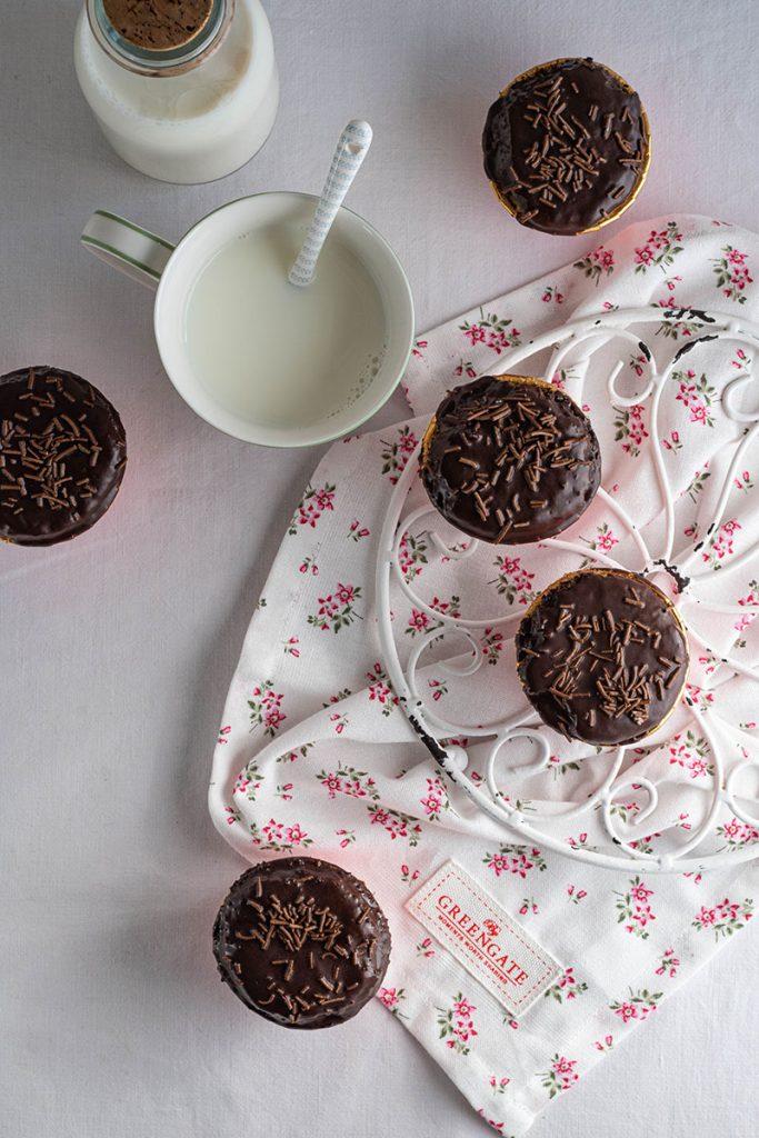 Muffin allolio con farina di solina